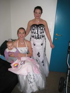 """Backstage under """"Operaball"""" med baby Jenny og sopran Tanja Leine"""